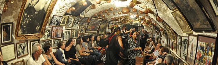Cena-espectáculo-flamenco-Granada
