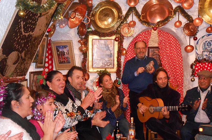 Nochebuena en el Sacromonte